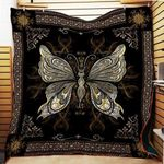 Theartsyhomes Butterfly 3D Personalized Customized Quilt Blanket ESR12