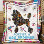 Theartsyhomes Dog Groomer Printing Ntp-Qvk0002 3D Personalized Customized Quilt Blanket ESR43