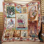 Theartsyhomes Book Time 3D Personalized Customized Quilt Blanket ESR23