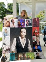 Theartsyhomes Cristian Castro 3D Personalized Customized Quilt Blanket ESR49