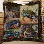 Theartsyhomes Crab V2 3D Personalized Customized Quilt Blanket ESR29