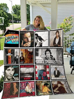 Theartsyhomes Bruce Springsteen 3D Personalized Customized Quilt Blanket ESR31
