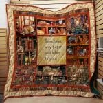 Theartsyhomes Book D1305 85o40 3D Personalized Customized Quilt Blanket ESR34