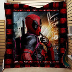 Theartsyhomes Deadpool V9 3D Personalized Customized Quilt Blanket ESR33