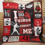 Theartsyhomes Boxing M0701 83o33 3D Personalized Customized Quilt Blanket ESR25
