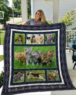 Theartsyhomes Cat 4 3D Personalized Customized Quilt Blanket ESR18
