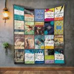 Theartsyhomes C. S. Lewis Books 3D Personalized Customized Quilt Blanket ESR29