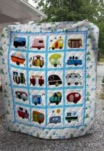 Theartsyhomes Camping And Tent V1 3D Personalized Customized Quilt Blanket ESR1