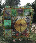 Theartsyhomes Dragonfly V5 3D Personalized Customized Quilt Blanket ESR10