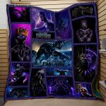 Theartsyhomes Black Panther Avenger Marvel Comics Art 3D Personalized Customized Quilt Blanket ESR30