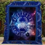 Theartsyhomes Cancer V2 3D Personalized Customized Quilt Blanket ESR20
