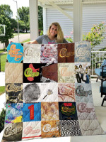 Theartsyhomes Chicago 3D Personalized Customized Quilt Blanket ESR46