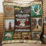 Theartsyhomes Book Nightmares 3D Personalized Customized Quilt Blanket ESR29