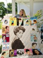 Theartsyhomes Connie Francis Style Three 3D Personalized Customized Quilt Blanket ESR10