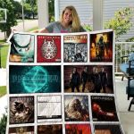 Theartsyhomes Disturbed 3D Personalized Customized Quilt Blanket ESR1