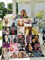 Theartsyhomes Delta Goodrem 3D Personalized Customized Quilt Blanket ESR10