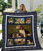 Theartsyhomes Beagle Qui25005 3D Personalized Customized Quilt Blanket ESR6