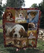 Theartsyhomes Beagle Dog V3 3D Personalized Customized Quilt Blanket ESR43