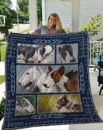 Theartsyhomes Bull Terrier 3D Personalized Customized Quilt Blanket ESR15
