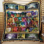 Theartsyhomes Book In My Dream 3D Personalized Customized Quilt Blanket ESR11