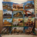 Theartsyhomes Cool Tool Of Heavy Equipment Operator 3D Personalized Customized Quilt Blanket ESR26