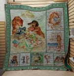 Theartsyhomes Dachshund hart 3D Personalized Customized Quilt Blanket ESR49