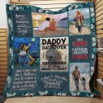 Theartsyhomes Father And Daughter J0201 83o35 3D Personalized Customized Quilt Blanket ESR33