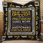 Theartsyhomes Dump Truck #1112-6 Hp-Nt 3D Personalized Customized Quilt Blanket ESR3