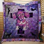 Theartsyhomes Dachshund Dog 3D Personalized Customized Quilt Blanket ESR41