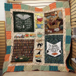 Theartsyhomes Book N2603 82o08 3D Personalized Customized Quilt Blanket ESR27