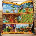 Theartsyhomes Dinosaur Train P142 3D Personalized Customized Quilt Blanket ESR2