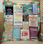 Theartsyhomes Best teacher ever 3D Personalized Customized Quilt Blanket ESR38