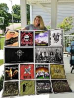 Theartsyhomes Black Label Society 3D Personalized Customized Quilt Blanket ESR24