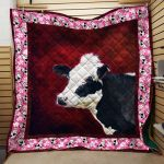 Theartsyhomes Cow Hqc-Qct00063 3D Personalized Customized Quilt Blanket ESR48