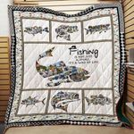 Theartsyhomes Fishing Is A Way Of Life Washable Handmade 1112-06 3D Personalized Customized Quilt Blanket ESR29