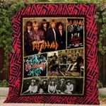 Theartsyhomes Def Leppard V1 3D Personalized Customized Quilt Blanket ESR2