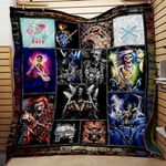 Theartsyhomes Born To Rock Washable Handmade 1512-01 3D Personalized Customized Quilt Blanket ESR5