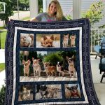 Theartsyhomes Chihuahua Qui6005 3D Personalized Customized Quilt Blanket ESR4