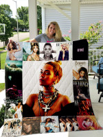 Theartsyhomes Beyoncxc3xa9 Style Two 3D Personalized Customized Quilt Blanket ESR2