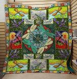 Theartsyhomes Colorfull Dragonfly V1 3D Personalized Customized Quilt Blanket ESR48