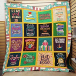 Theartsyhomes Book Dragon 3D Personalized Customized Quilt Blanket ESR1