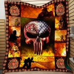 Theartsyhomes Fire Rescue Printing Dml-Qdd00007 3D Personalized Customized Quilt Blanket ESR35