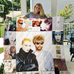 Theartsyhomes Eurythmics Style Two 3D Personalized Customized Quilt Blanket ESR27