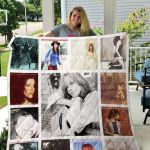 Theartsyhomes Carly Simon 3D Personalized Customized Quilt Blanket ESR46