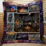 Theartsyhomes David Mann Motorcycles Camping 2111-04 3D Personalized Customized Quilt Blanket ESR50