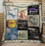 Theartsyhomes Dragonfly: Live In The Moment 3D Personalized Customized Quilt Blanket ESR23