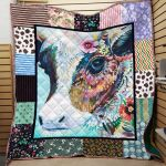Theartsyhomes Cow Printing Pm-Qct00009 3D Personalized Customized Quilt Blanket ESR30