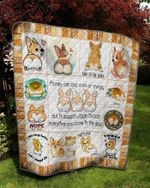 Theartsyhomes Corgi butts drive me nuts 3D Personalized Customized Quilt Blanket ESR31