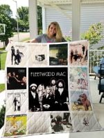 Theartsyhomes Fleetwood Mac 3D Personalized Customized Quilt Blanket ESR35