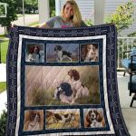 Theartsyhomes English Springer Spaniel Qui78001 3D Personalized Customized Quilt Blanket ESR48